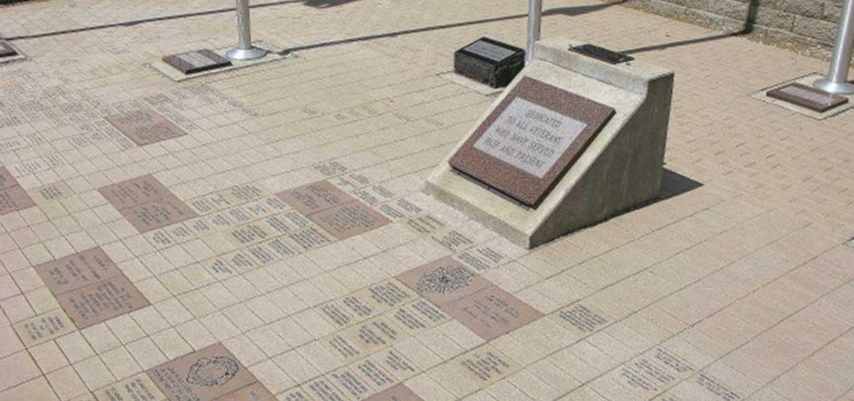 Military honor brick program johnsburg community club for 1000 bricks square feet